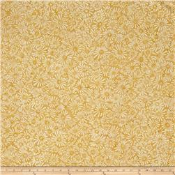 Batavian Batiks Flower Field Golden