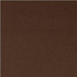 Micro Brushed Twill Chocolate