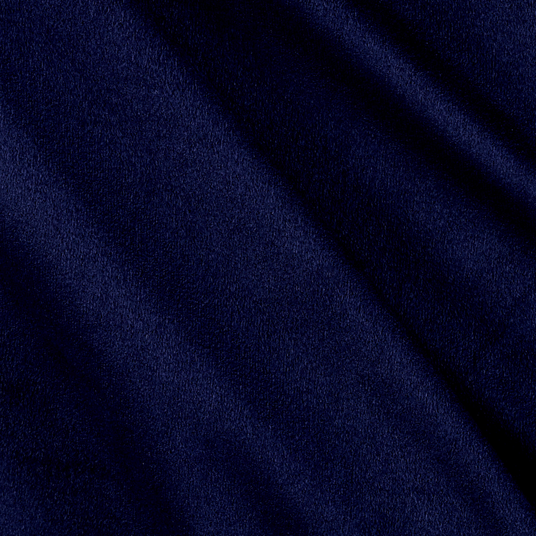 Ultra Brushed Jersey Knit Suede Navy Fabric 0490573
