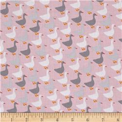 Kaufman Urban Zoology Minis Little Ducks Pink