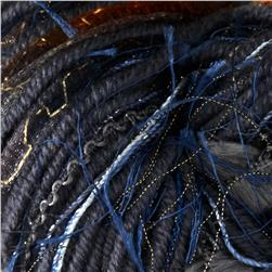 Bernat Knit or Knot  Yarn (45002) Blue Glitter