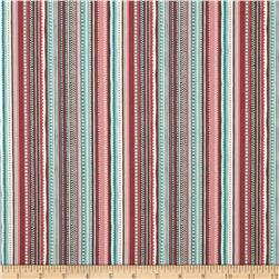 Flo's Garden Flo's Stripe Dark Fabric