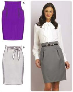 Kwik Sew Fitted Skirts Pattern