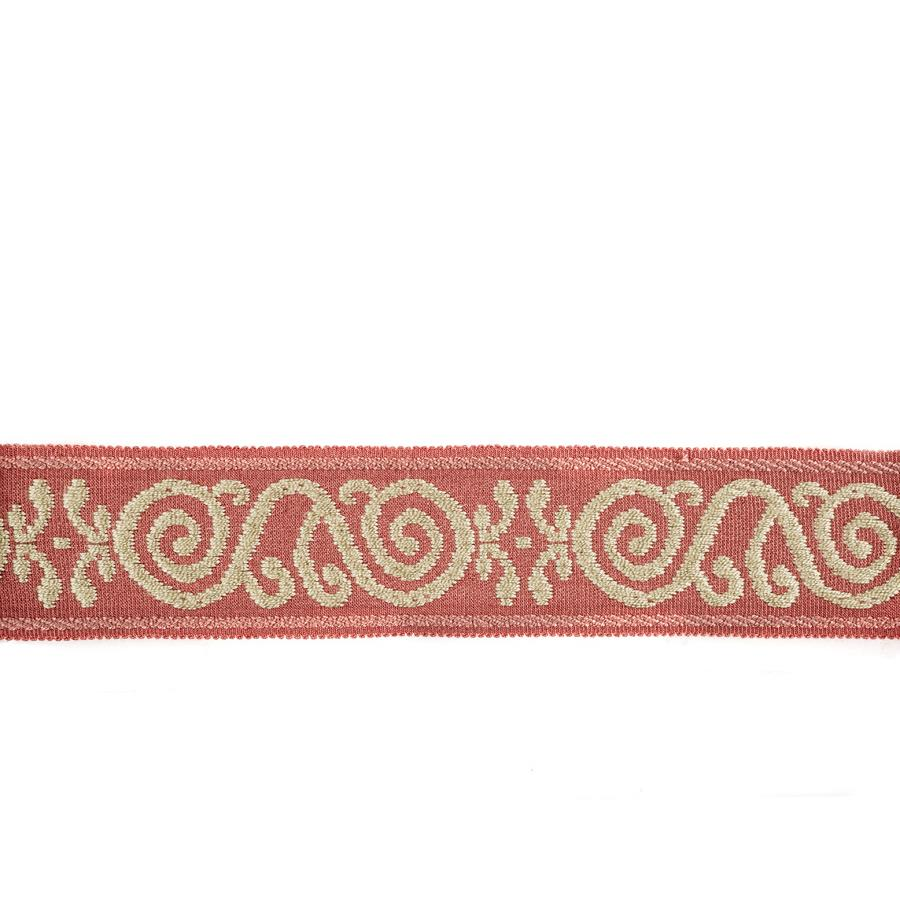 Mount Vernon 2'' Ornament Trim Coral
