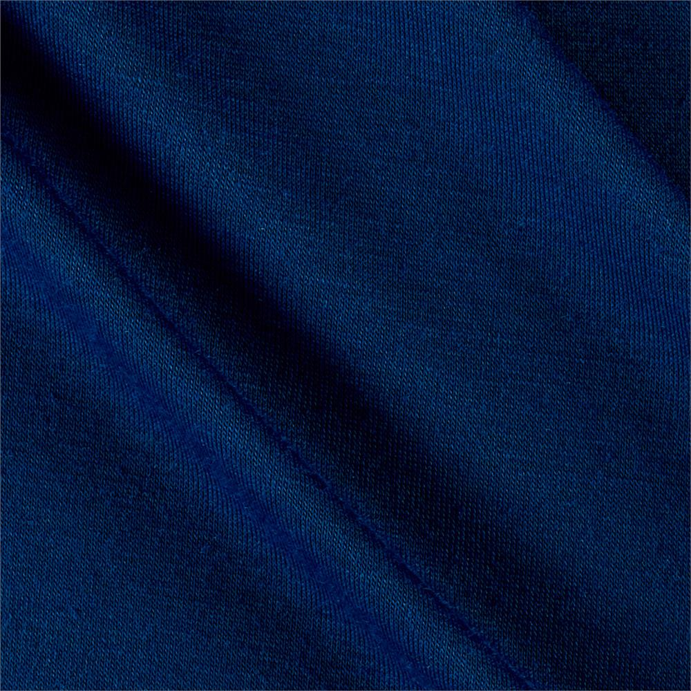 Polyester Jersey Knit Solid Storm Blue