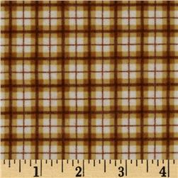 Riley Blake Elk Ridge Flannel Plaid Brown