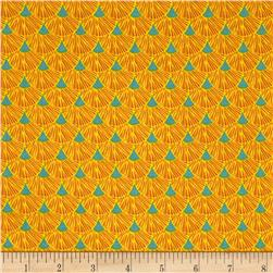 Sweet Tweet Sunshine Geo Yellow/Blue Fabric