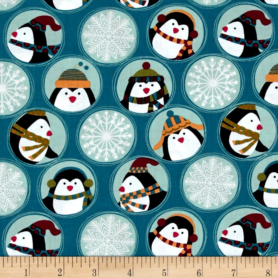 Jolly Penguin & Friends Penguin Friends & Flakes Blue/Multi