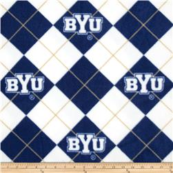 Collegiate Fleece Brigham Young University White