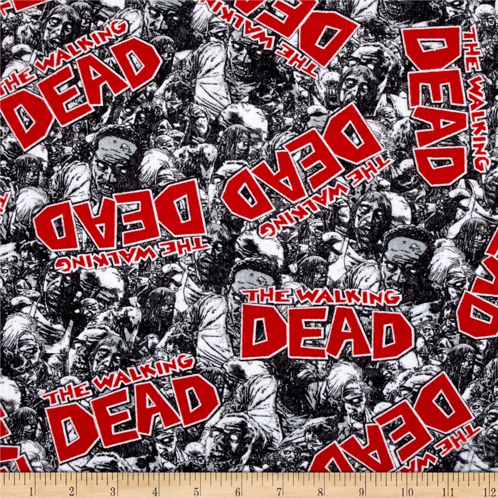 The Walking Dead Flannel Zombie Land Black
