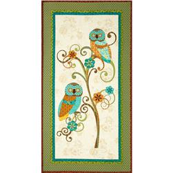 Who's Who Owl Panel Multi