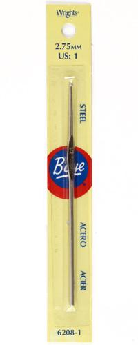 Boye Steel Crochet Hook 5'' Size 1