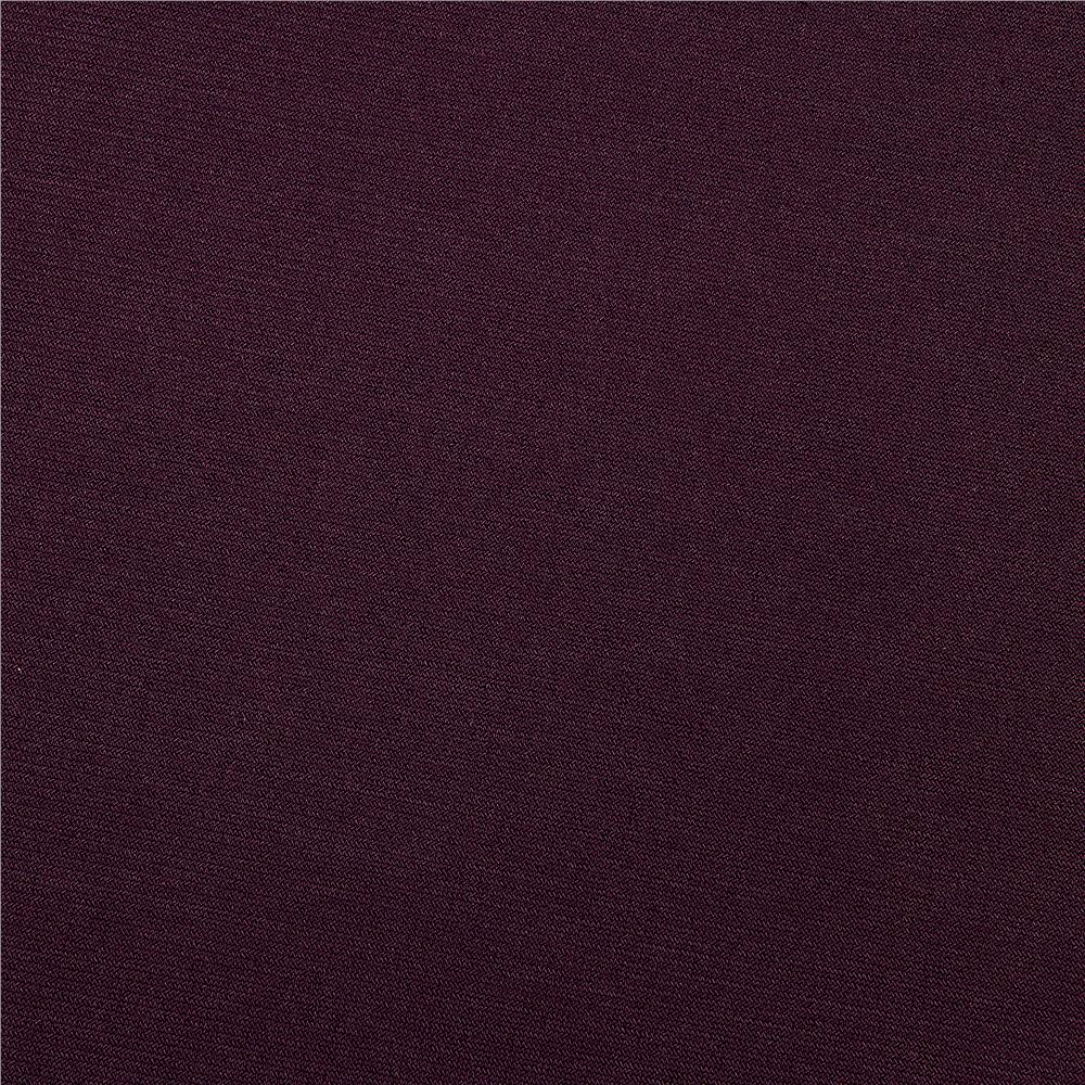 Stretch Jersey ITY Knit Plum Fabric