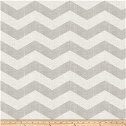 Jaclyn Smith 02603 Linen Chevron Dove Gray