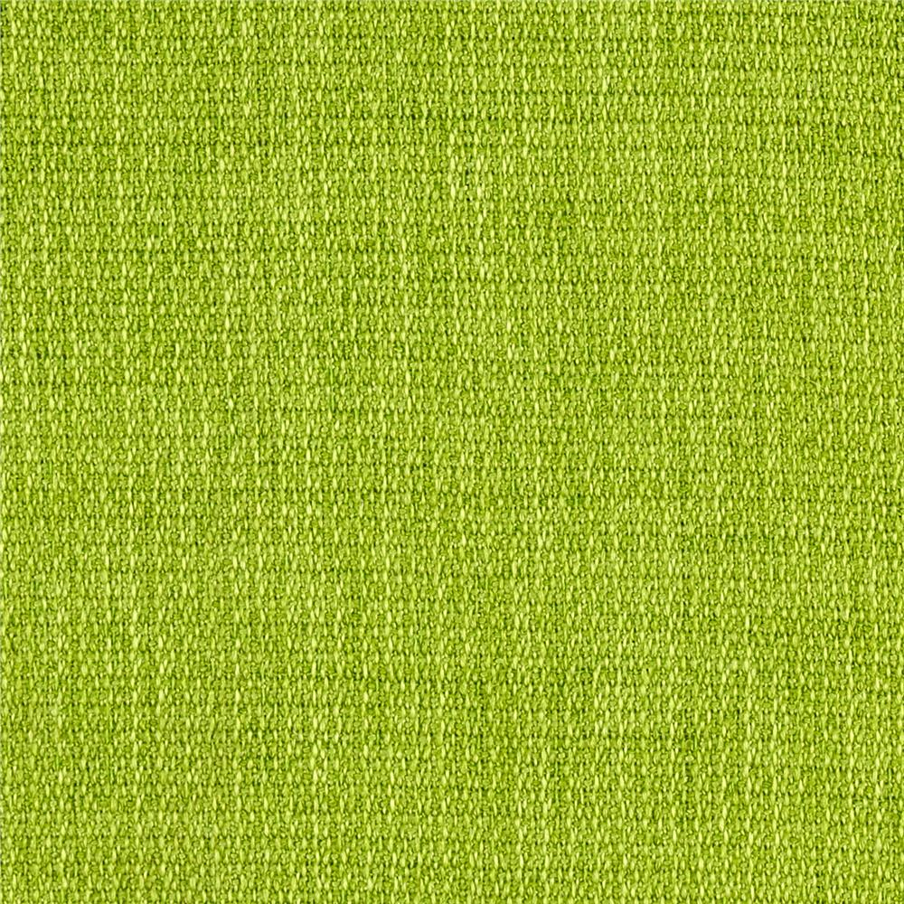 Polyester Upholstery Basketweave Lime