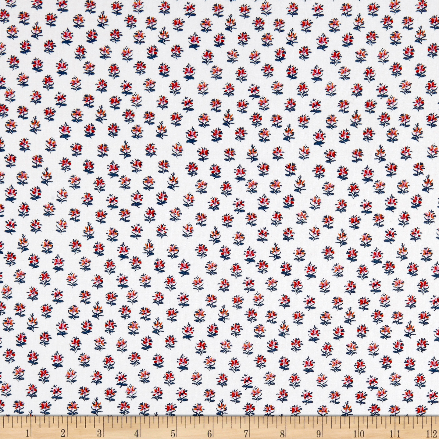 INOpets.com Anything for Pets Parents & Their Pets Elephant's Garden White Fabric