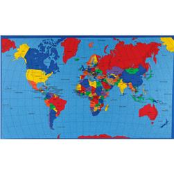 Multi Panel Map World Multi