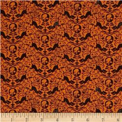 Moda Eerie Reaper Fright Night Fabric