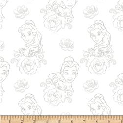 Disney Beauty and the Beast Bold as a Rose Grey