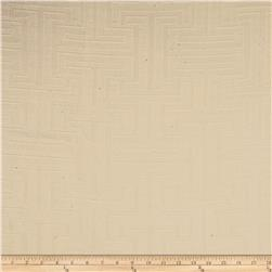 Robert Allen Promo Upholstery Flowing Tide Jacquard Ivory