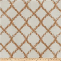Keller Zoltar Lattice Jacquard Rust