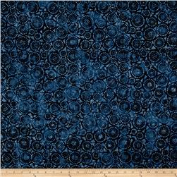 Wilmington Batiks Geo-Circles Blue