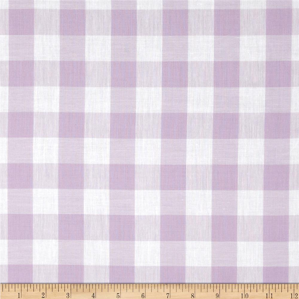 Gingham 1'' Checks Galore Lilac