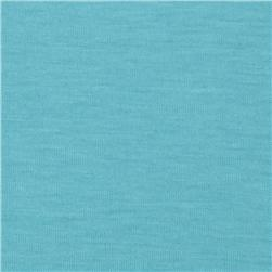Cielo Stretch Rayon Blend Jersey Knit Aqua