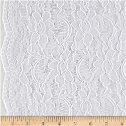 Supreme Lace White Fabric