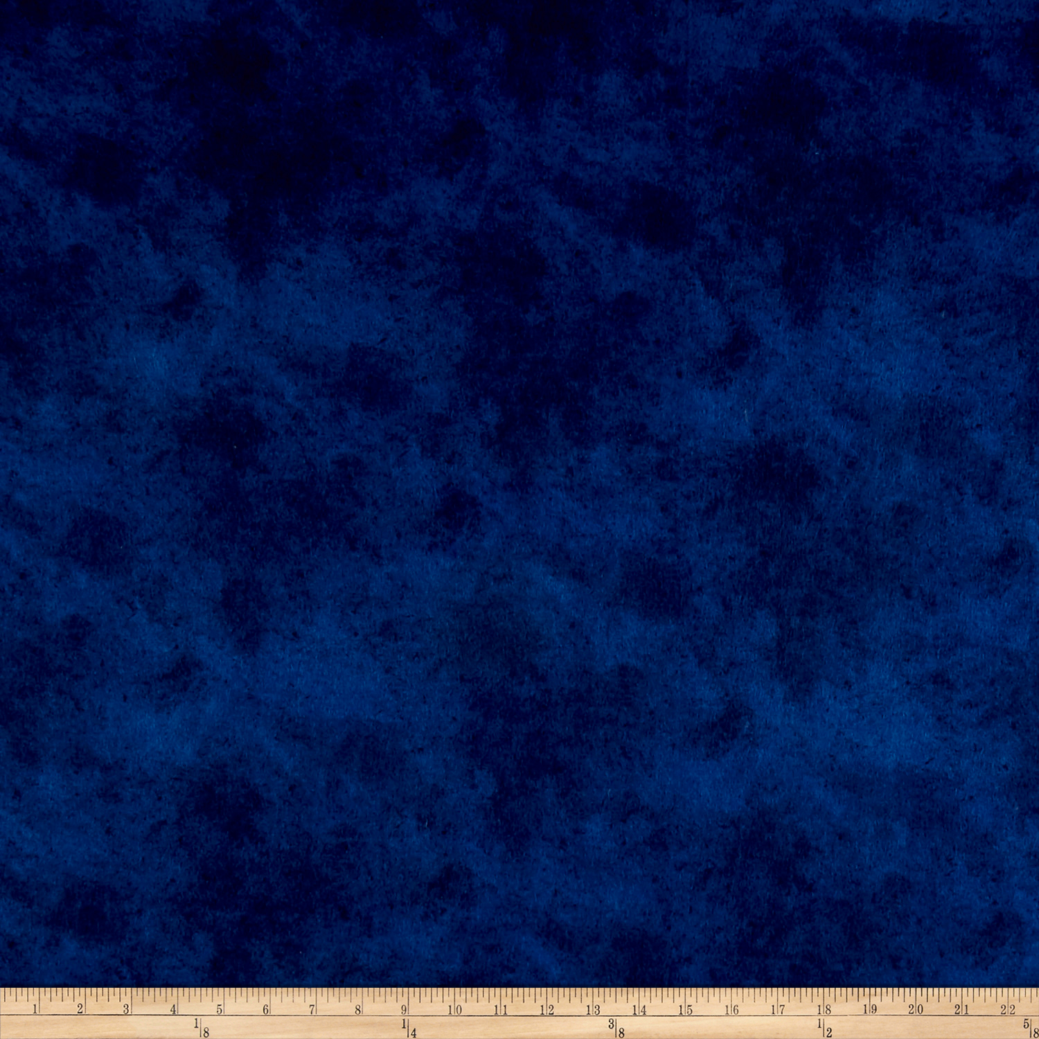 Suede Flannels Navy Fabric by P & B in USA
