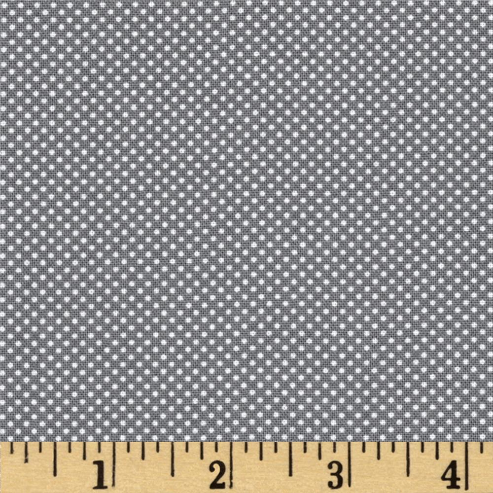 Moda Dottie Tiny Dots Graphite