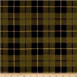 Wilderness Flannel Plaid Olive