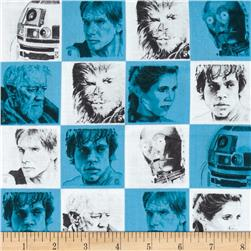 Star Wars Characters Blue
