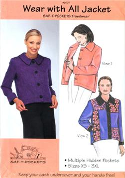 Saf-T-Pockets Wear With All Jacket Pattern