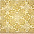 Joel Dewberry Flora Home Decor Sateen Bazzar Lichen