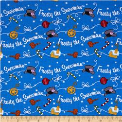 Silly Snowman Frosty Toss Royal Blue
