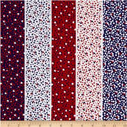 Kanvas Love American Style Dotted Stripe Multi