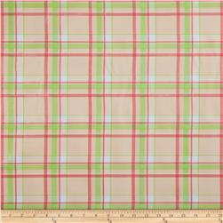 Oilcloth Scottish Plaid Pink