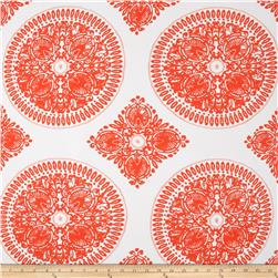 Ty Pennington Home Décor Sateen Fall 11 Medallion Orange