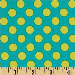 Michael Miller Ta Dot Lagoon Fabric