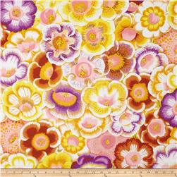 Kaffe Fassett Collective Gloxinias Golden