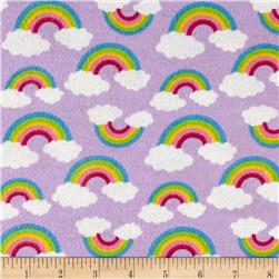 Rainbow Flannel Lilac