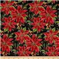 Holiday Blooms Poinsettia Red/Green