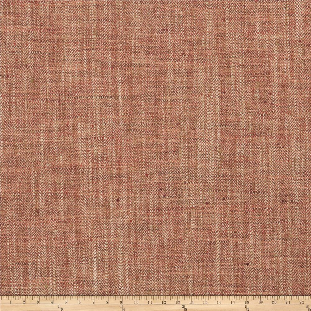Fabricut Phelps Basketweave Berry
