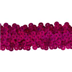Team Spirit #66 Sequin Trim Fuchsia Spot