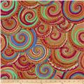 Kaffe Fassett Spring 2014 Collective Earth Curly Baskets Antique