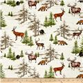 Moose Lodge Wildlife Allover Multi