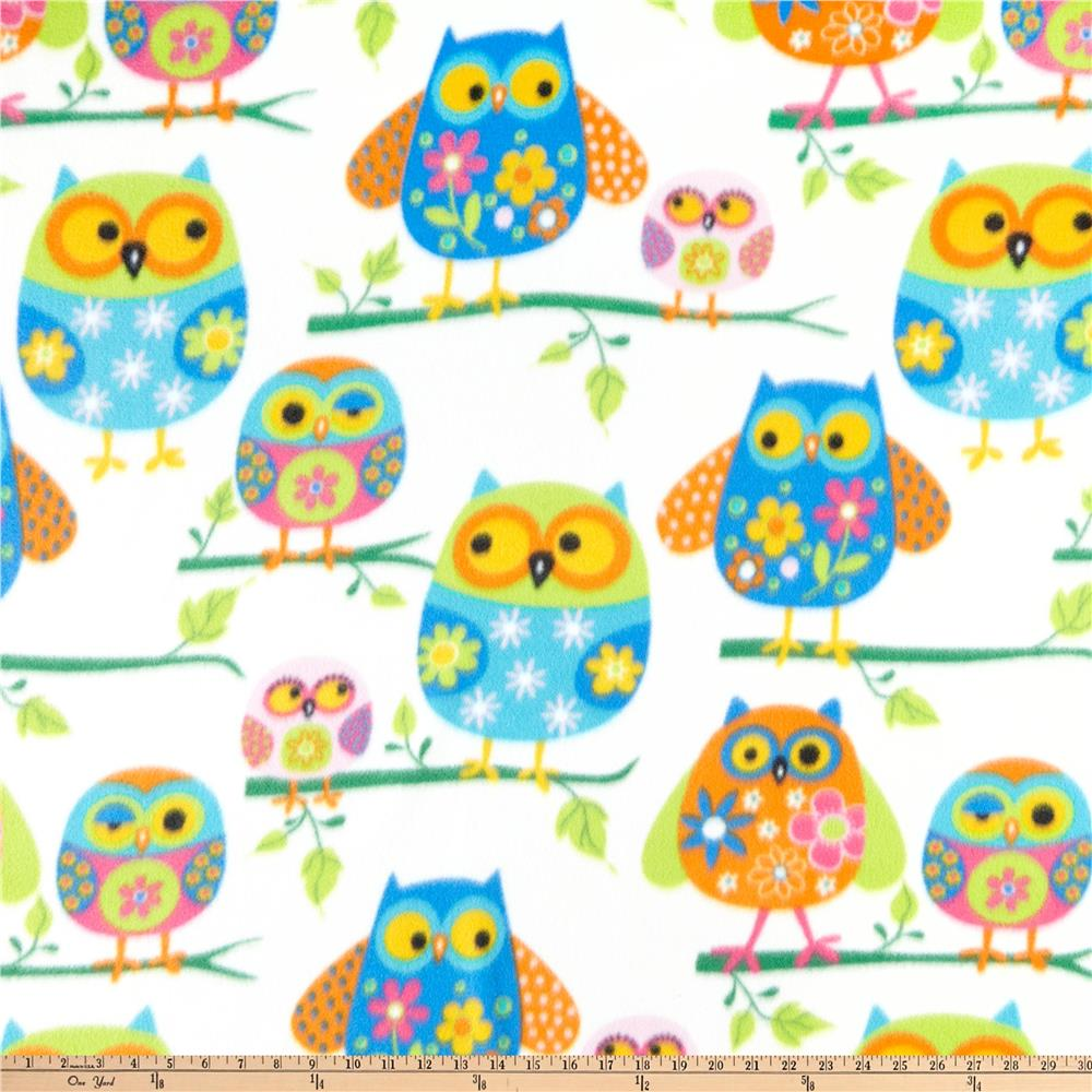 WinterFleece Owls Multi