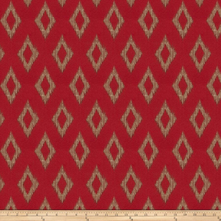 Jacquard beluga diamond claret discount designer fabric for Jacquard fabric