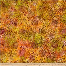 Timeless Treasures Tonga Batik Autumn Rose Bush